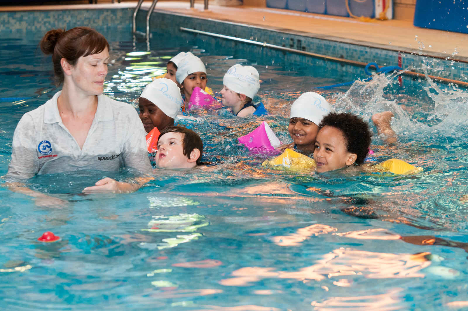 Pool parties polam swim school polam school for Swimmingpool aufstellbecken pool